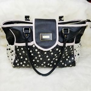 Betsey Johnson|Large Faux Leather Tote